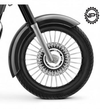 30 Spoke Harley Style HE30 Alloy Wheels for Royal Enfield Classic 350