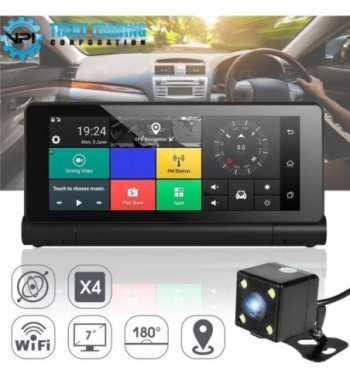 Touch Screen Car DVR Camera Full HD and GPS Navigation