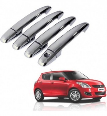 Auto Pearl Premium Quality Car Chrome Latch Cover -Maruti Swift Car Door Handle  (Pack of 4)