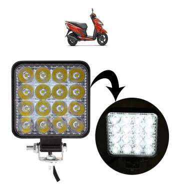 VP1 Square 16 Led Bike...