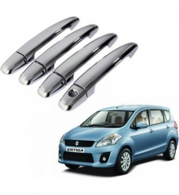 Auto Pearl Premium Quality Car Chrome Latch Cover - Maruti Ertiga Car Door Handle  (Pack of 4)