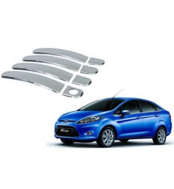 Chrome Door Handle Latch Cover - Ford Fiesta Ford Car Door Handle  (Pack of 4) 4 ★2 Ratings & 0 Reviews