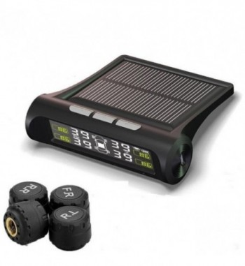 Solar Power TPMS Smart Car Tire Tyre Pressure Monitoring System