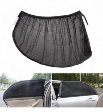 Window Sun Shade Black Mesh