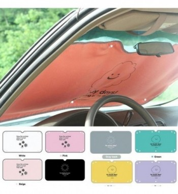 Cartoon Car Window Foils Sunshade Curtain Windshield Cover Frost Visor Shield Car Cover Car Styling Window Solar Protection