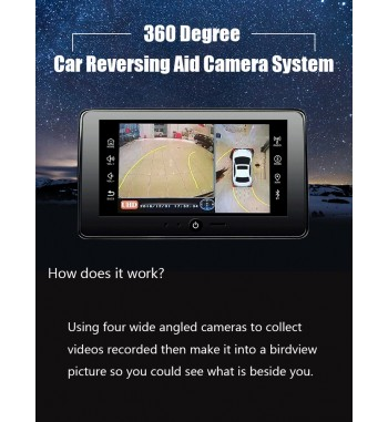 3D HD 360° Car Surround...