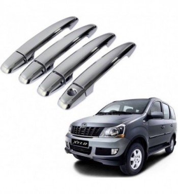 Auto Pearl Premium Quality Car Chrome Latch Cover - Mahindra Xylo Mahindra Xylo Car Door Handle  (Pack of 5)