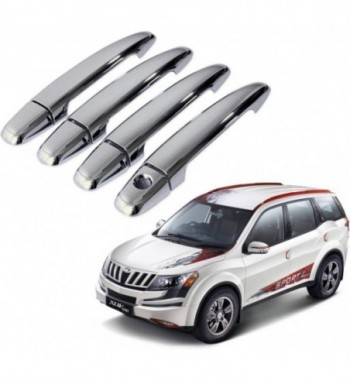 Auto Pearl Premium Quality Car Chrome Latch Cover - Mahindra Xuv500 Mahindra XUV Car Door Handle  (Pack of 4)