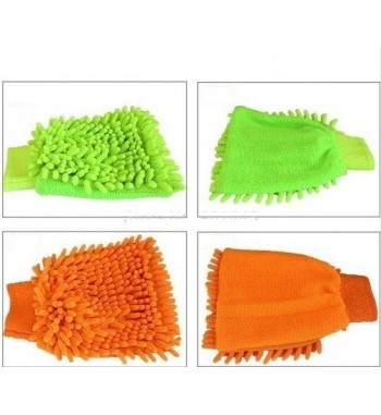 High Density Microfiber Glove Mitt for Car