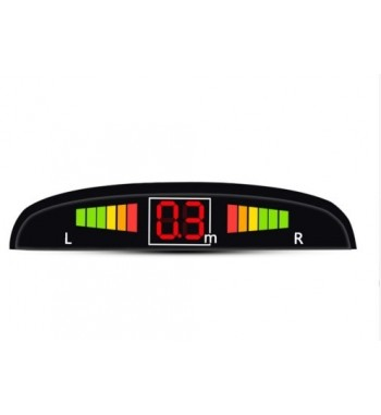 7 colors Sensor Kit Car Auto LED Display 4 Sensors